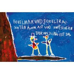 Vogelmann und Vogelfrau